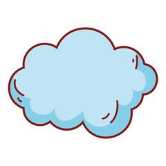 Cloud drawing cartoon