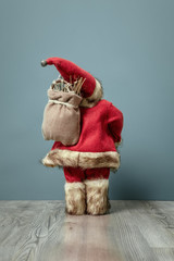 Santa Claus figure back