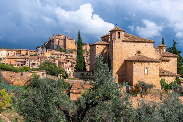Alquezar, beautiful medieval village in Huesca, Spain