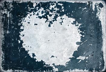Texture of peeling paint.