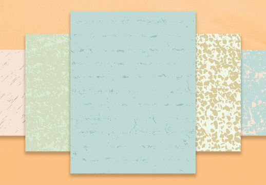 Weathered Natural Vector Textures Pack