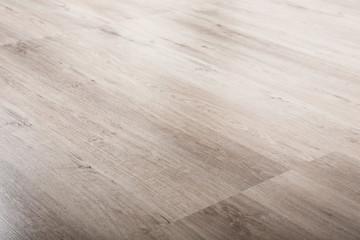 Timber laminate flooring at home