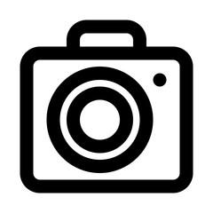 Camera Photo Tourism Travel Journey Voyage Tour vector icon