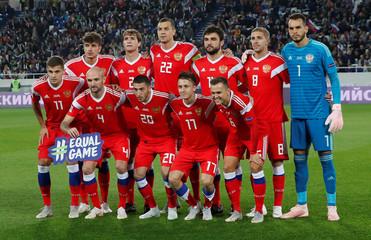 UEFA Nations League - League B - Group 2 - Russia v Sweden