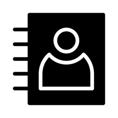 Contacts Project Management Business Office Working vector icon