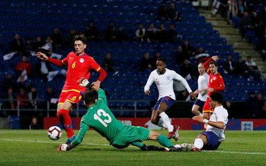 European Under 21 Championship Qualifier - Group 4 - England v Andorra