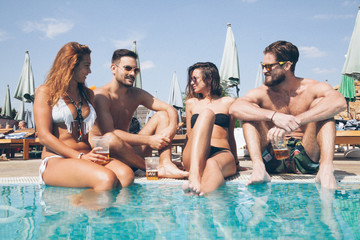 Pool Party with friends