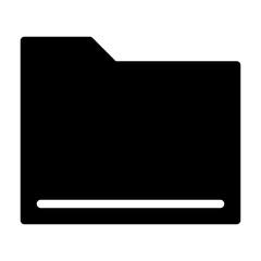 Folder Computer Interface User Program vector icon
