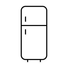 Fridge Housekeeping Home Furniture Living Interior vector icon