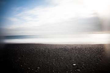 Exploring Iceland landscape