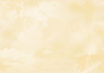 ベージュの雲背景