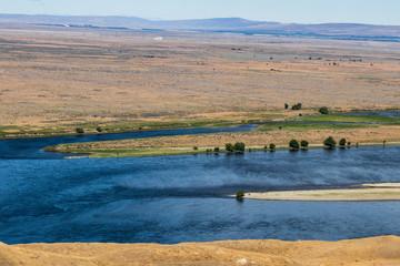Eastern Washington Palouse vast expanse desert view Columbia River