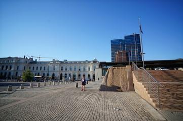 オスロ市内の風景