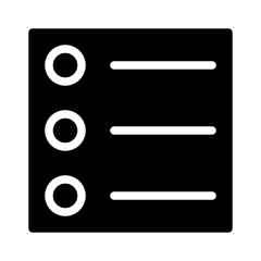 List Round Text Editor Write Author Writer vector icon