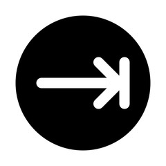 Next Arrow Direction Move Arrows.8 vector icon
