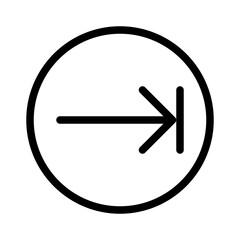 Next Arrow Direction Move Arrows.9 vector icon