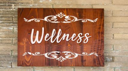 Schild 344 - Wellness