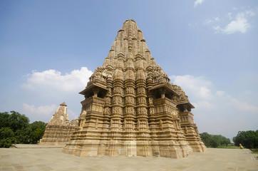 KANDARIYA MAHADEV TEMPLE, South Wall - Back, Western Group, Khajuraho, Madhya Pradesh, UNESCO World Heritage Site