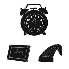 Vector design of dreams and night symbol. Set of dreams and bedroom vector icon for stock.