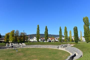 Amphitheater von Windisch im Kanton Aargau