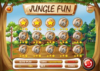 A jungle fun template