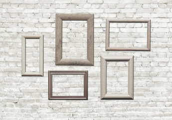 frames on wall
