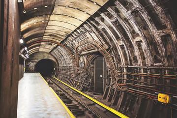 Industrial underground tunnel