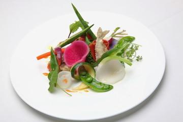 野菜畑のサラダ