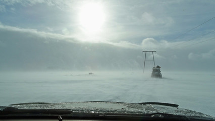 Iceland expedition in wintertime