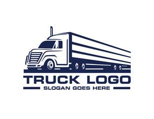 Truck logo template