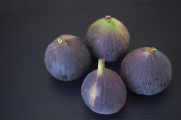 fresh figs on a table