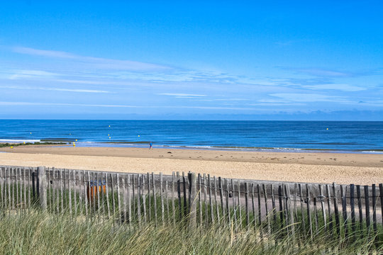beach of Cabourg (France)