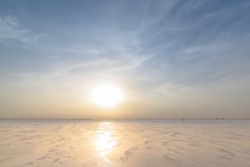 Ethiopia, Danakil depression, lake Ass Ale