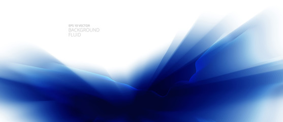 Abstract-fluid-blue