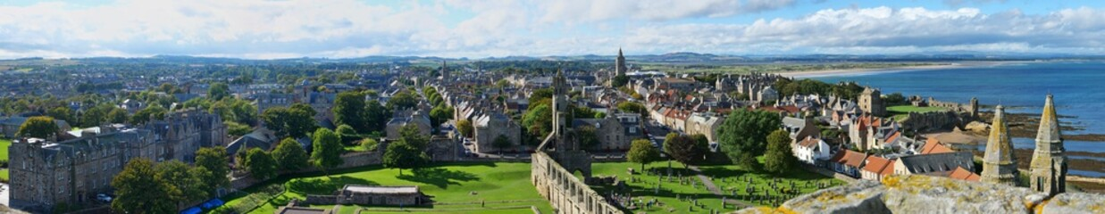Panorama von St Andrews Wall mural