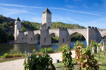 Le pont Valentré à Cahors, Lot