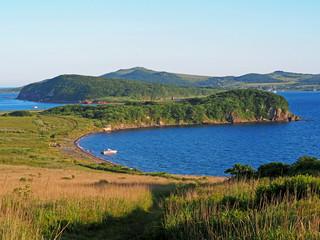 Popov island view
