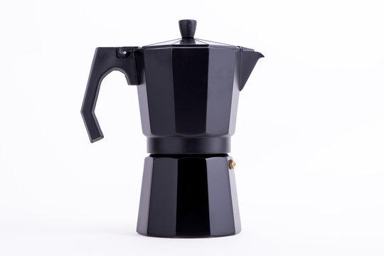 Cafetera italiana negra Italian Coffe Pot