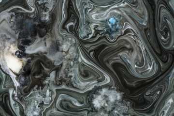 Abstract colorful liquid background