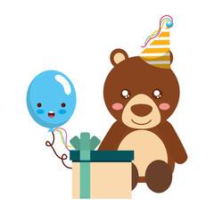 cute bear gift balloon kawaii birthday
