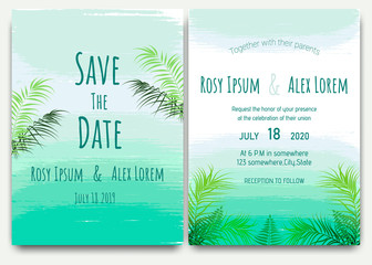 Background Wedding Invitation Wallpaper Watercolor.