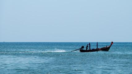 asian fishing boat