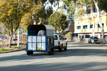 Race Horse Transport Cart