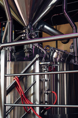 Microbrewery beer brewing equipment