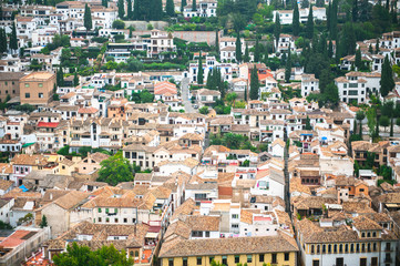 Rooftops of Granada