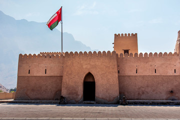 Bukha fort in Musandam Oman, Middle east architecture