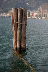 ancoraggio navale sul lago di garda