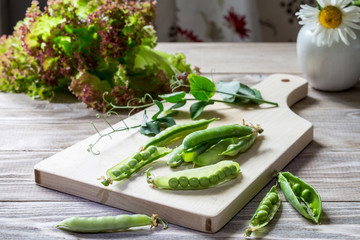 Image with peas.