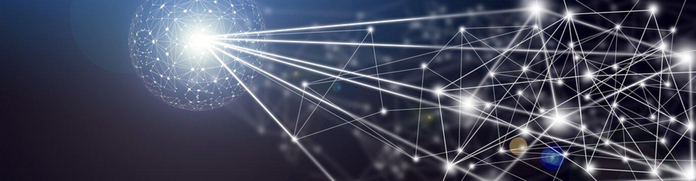 Global Cyberspace / Digital Illustration