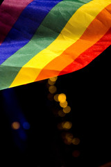 Flag of gay symbol colorines